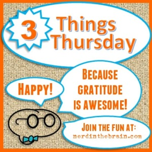 three things thursday widget badge