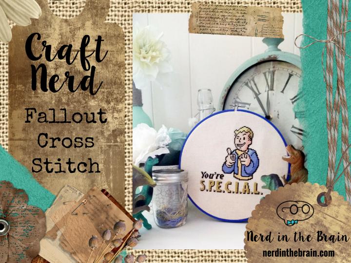 Craft Nerd: Fallout Cross Stitch | Nerd in the Brain