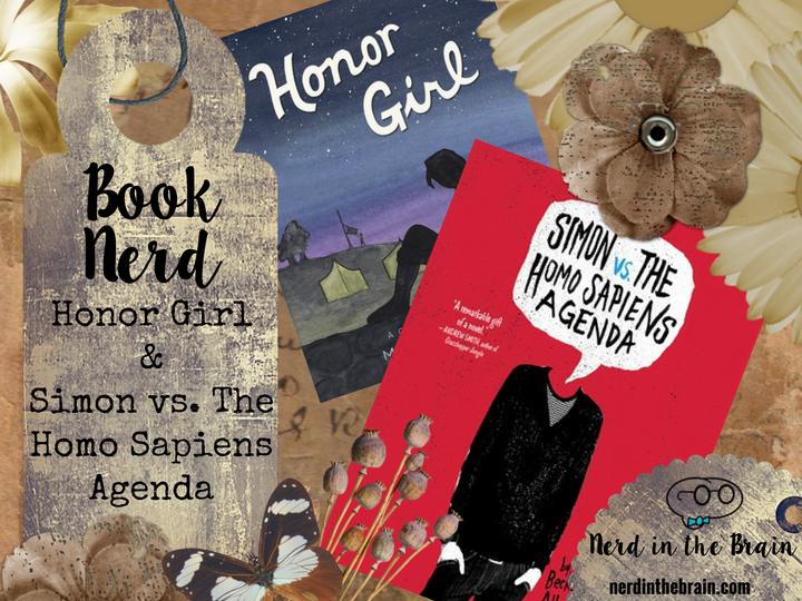 Book Nerd: Honor Girl & Simon vs. The Homo Sapiens Agenda | Nerd in the Brain